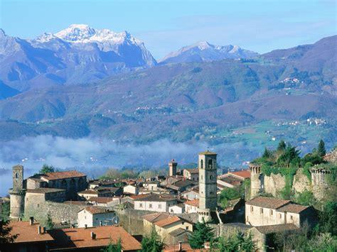 Tuscan L by Castiglione Di Garfagnana Tuscany Italy Postcard