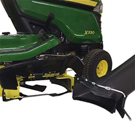 the 42 in. (107 cm) accel deep™ (42a) mower deck cuts