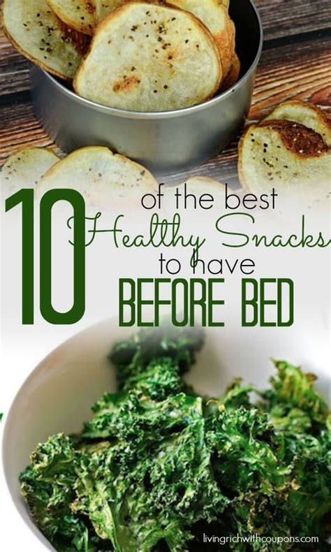 healthy snack before bed 10 of the best healthy snacks to eat before bedliving rich with coupons 174