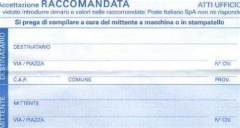 delega ufficio postale posta raccomandata in quanto tempo deve essere consegnata