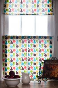 diy retro kitchen curtains sew knit create