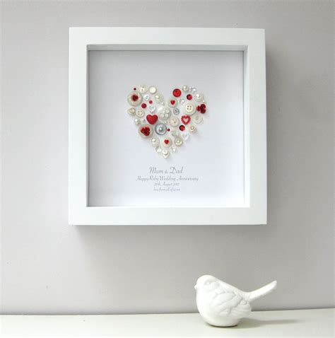 Wedding Anniversary Gifts Ruby by Ruby Anniversary Picture Sweet Dimple