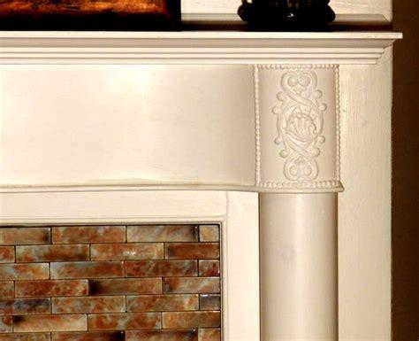 Glazed Brick Fireplace by 440 Linwood Avenue