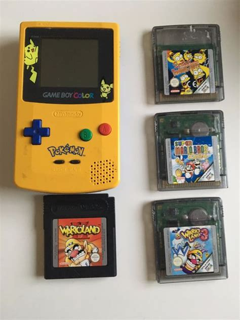 gameboy color pikachu edition gameboy color pikachu edition with 4 catawiki