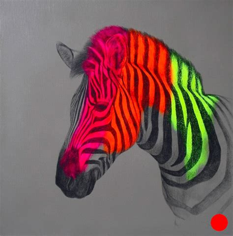drawing and painting animals fluorescent mixed media animals by louise mcnaught colossal