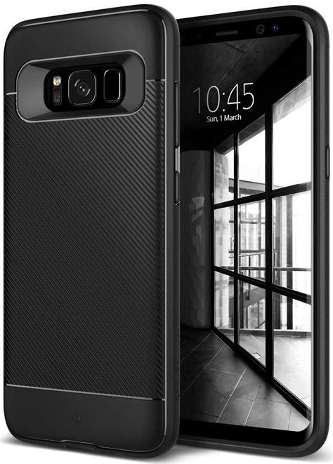 Original Caseology Galaxy S8 Vault I Black best samsung galaxy s8 cases