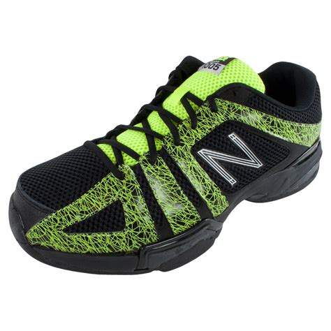 s 1005 d width tennis shoes black and yellow