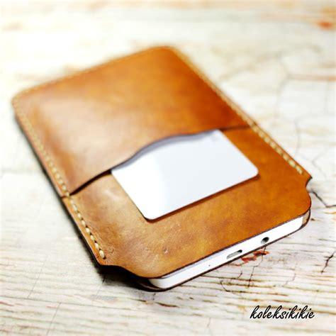 Sarung Hp Kulit Asli 3 Kantong sarung handphone kulit asli koleksikikie