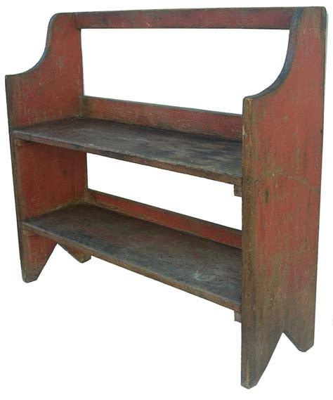 bench shelves 43 best primitive crock bench images on pinterest