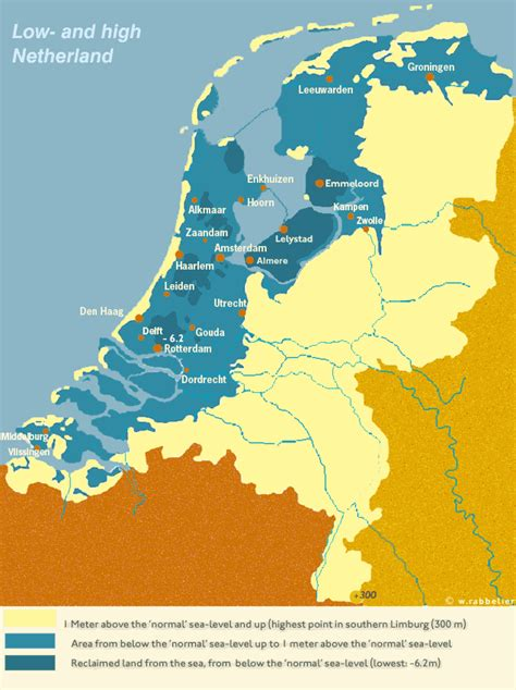 netherlands geography map geography map