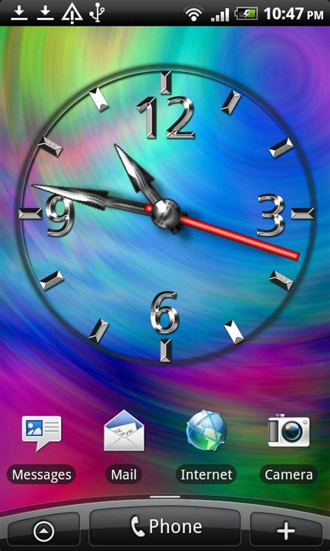 themes live mobile cool clock free android apps on google play