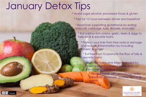 January Detox by Nutritional Therapy Homeopathy Essex Inspiring Health