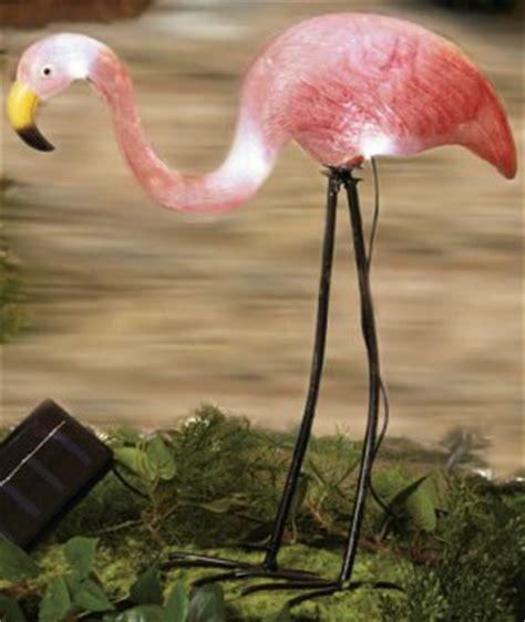 Flamingo Garden Decor by Solar Flamingo Garden Yard Decor