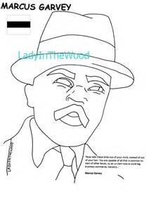 marcus garvey coloring pages coloring pages