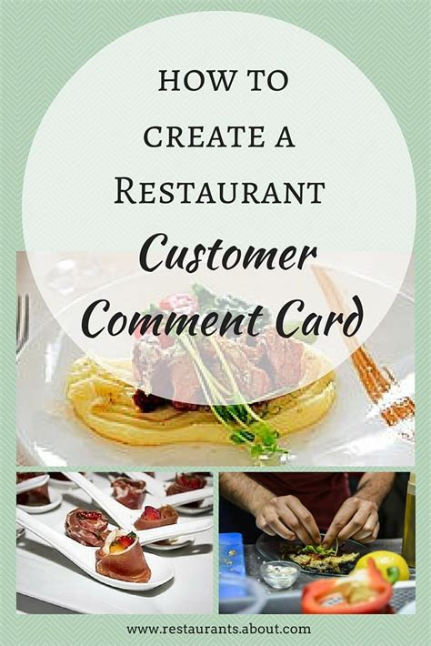 How To Use Restaurant Com Gift Card - the effective way to use customer comment cards customer feedback restaurants and