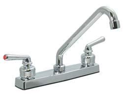 high rise kitchen faucet two handle hi rise kitchen faucet