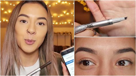 tattoo eyebrows l oreal my honest opinion on l oreal s 24 hour micro tattoo brow