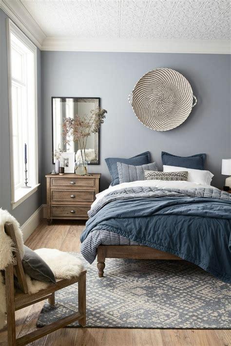 trendige farben fabelhafte schlafzimmergestaltung  grau