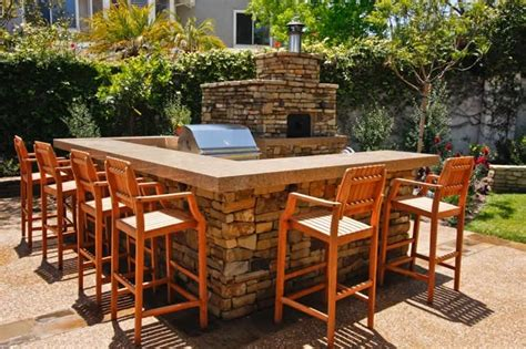 backyard pizza and bar outdoor kitchen capistrano ca photo gallery landscaping network