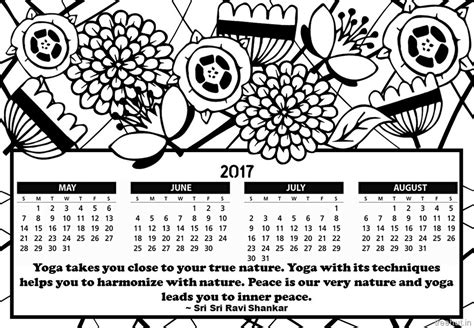printable calendar coloring pages 2017 adult coloring pages printable calendars 2017 adult best