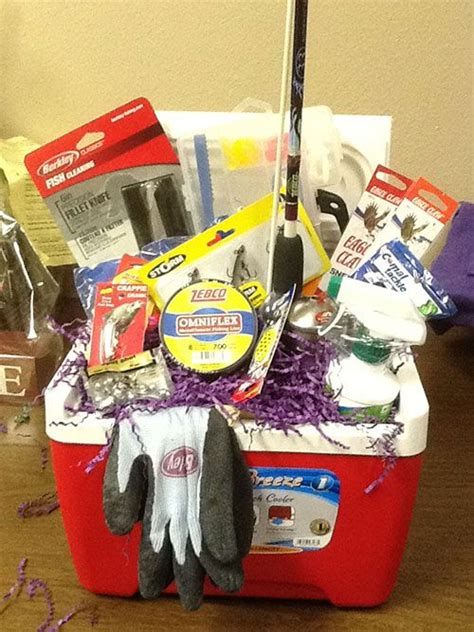 gift for fisherman best 25 silent auction baskets ideas on