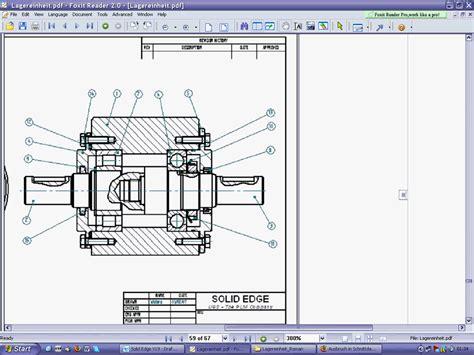 schnitt technische zeichnung ausbruch in schnittdarstellung siemens plm software solid