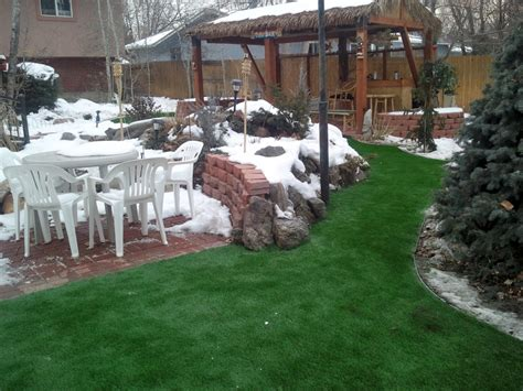 Golf Backyard Artificial Grass Synthetic Turf Denver Colorado