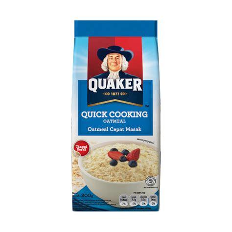 Nepel Besi 3 G Brand jual quaker cooking oatmeal 200 g 3 pcs harga kualitas terjamin blibli
