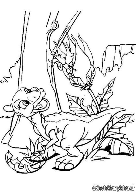 littlefoot coloring pages