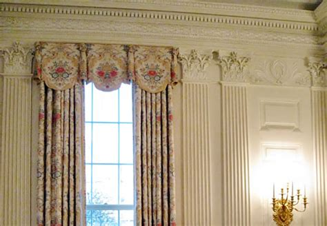 white house drapes state dining room white house museum