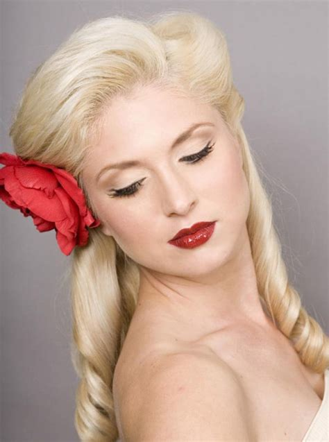 Pictures Of Pin Up Hairstyles by 11 Pin Up Hairstyles For Hair Hairstyles