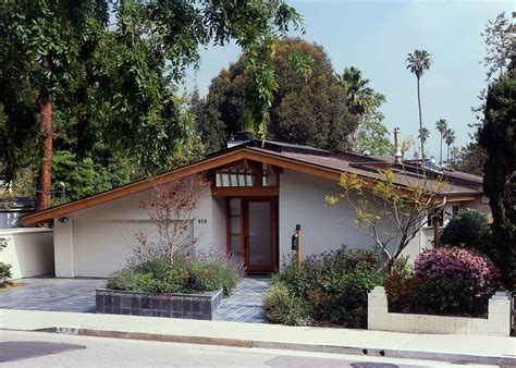 Mid Century Modern Ranch House residential architecture santa monica mid century modern