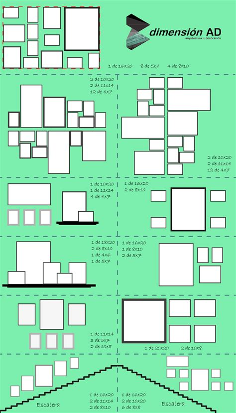 cuadros y fotos composici 243 n cuadros y fotos dimensionad arquitectura