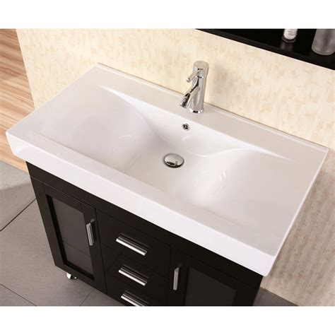 single bathroom sink martina 36 quot single sink vanity set zuri furniture
