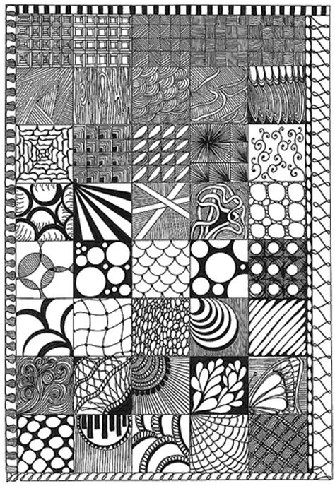 pattern in sketch 3 zentangle slers a gallery on flickr