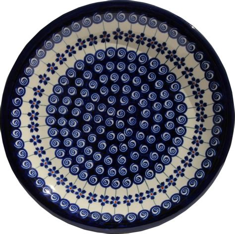 polish pottery dinner plate pattern number 233ar polish pottery dinner plate pattern number 1085a
