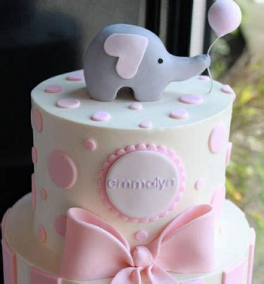baby shower cakes for girls – decoration ideas | little