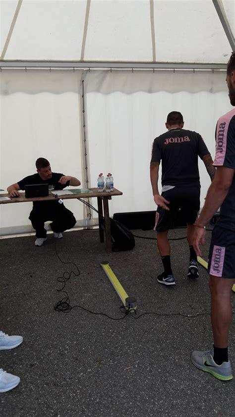 test atletici test atletici al palermo calcio rosa associati