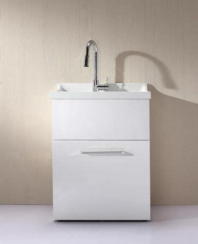 all in one utility sink yani all in one utility sink with pull out faucet included