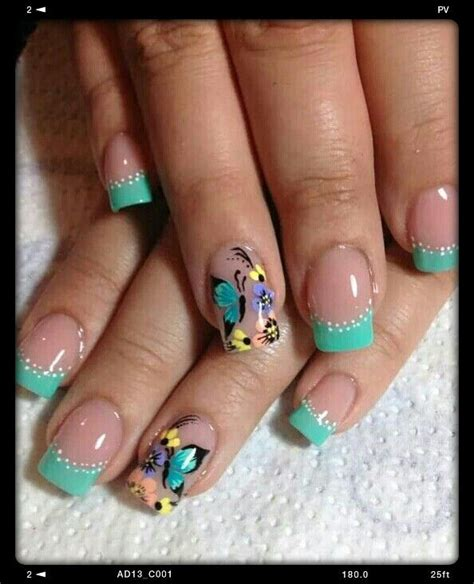 imagenes uñas decoradas con mariposas dise 241 os de u 241 as mariposas 2017