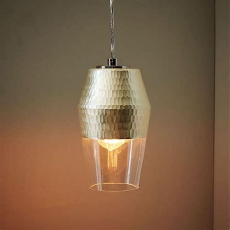 west elm pendants metallic honeycomb glass pendant tall west elm