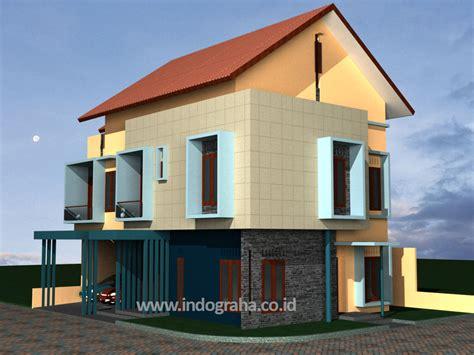 kapasitas desain adalah desain rumah minimalis di perumahan the address cibubur