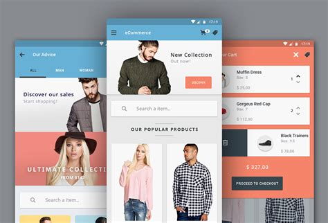 design app free download free ecommerce app ui designs graphicsfuel
