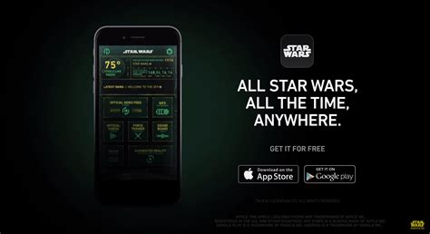 official wars android and ios app lets you take a selfie with princess leia - Wars App Android