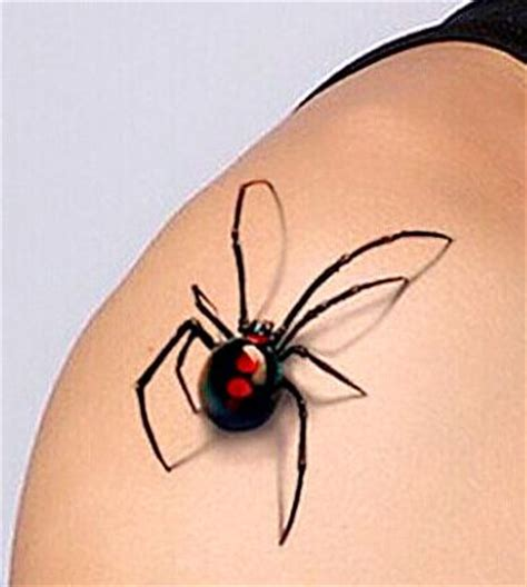 red back spider tattoo designs 160 best spider images on 3d tattoos