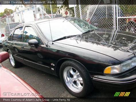 1994 Impala Ss Interior by Black 1994 Chevrolet Caprice Impala Ss Gray Interior
