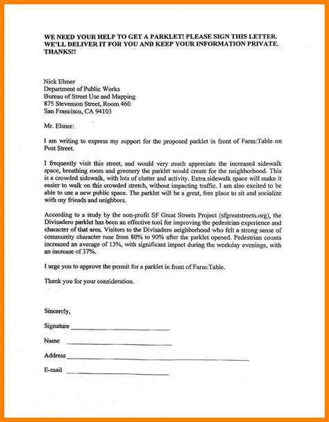 15 Exles Of Petition Letters Waa Mood Petition Letter Template