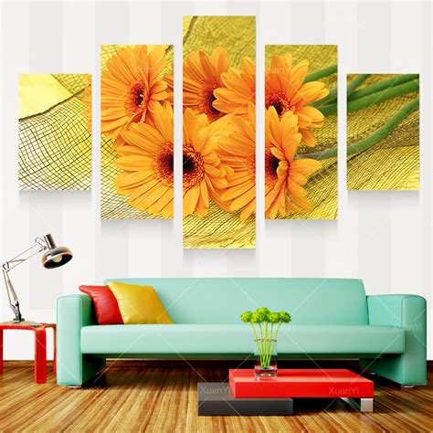 aliexpress buy modern prints beautiful flower