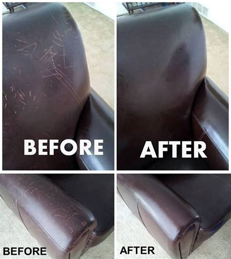 what can i use to clean a leather sofa diy fix cat scratches home design garden architecture