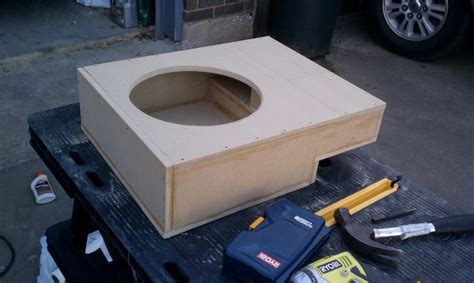 subwoofer box design ideas ford  forum
